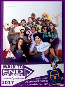 Soreo Alzheimer's Walk